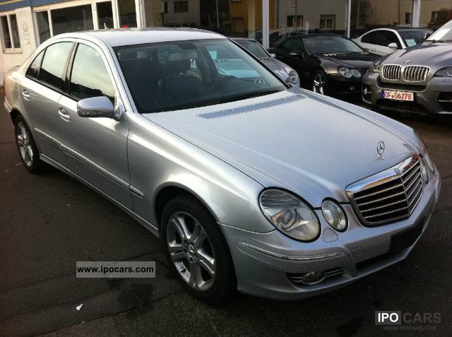2007 Mercedes-Benz  E 320 CDI Avantgarde automatic 4Matic Limousine Used vehicle photo
