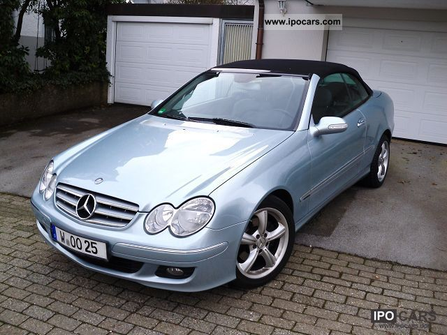 2005 Mercedes-Benz  CLK 280 7G-TRONIC * new condition * Warranty * Cabrio / roadster Used vehicle photo