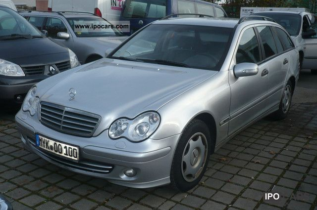 2004 mercedes benz c 220 cdi 150 hp leather comand xenon euro 4 car photo and specs. Black Bedroom Furniture Sets. Home Design Ideas