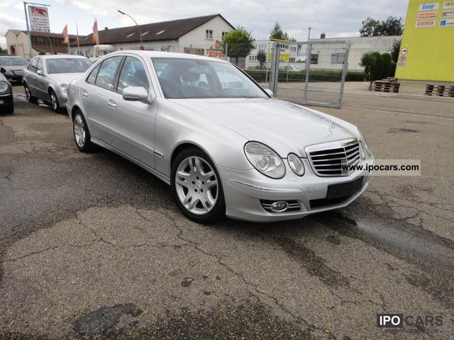2008 mercedes benz e 280 cdi avantgarde dpf sport leather navi car photo and specs. Black Bedroom Furniture Sets. Home Design Ideas