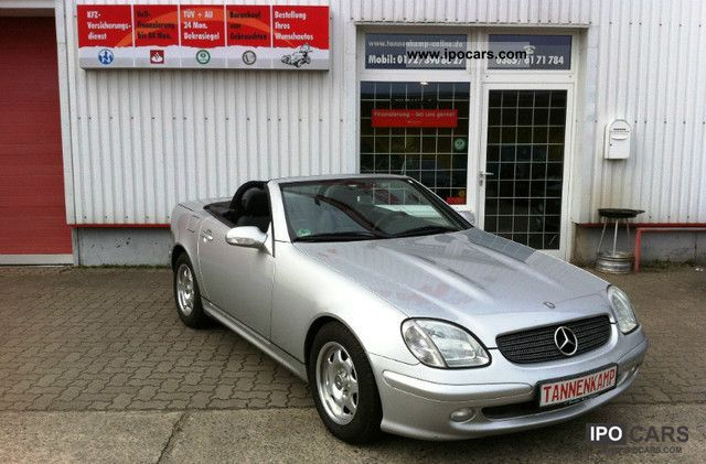 2002 mercedes benz mb slk 200 kompressor maintained. Black Bedroom Furniture Sets. Home Design Ideas