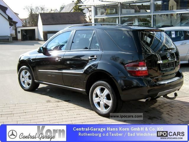 2007 mercedes benz ml 280 cdi 4m ag 7g dpf comand ahk sports package car photo and specs. Black Bedroom Furniture Sets. Home Design Ideas