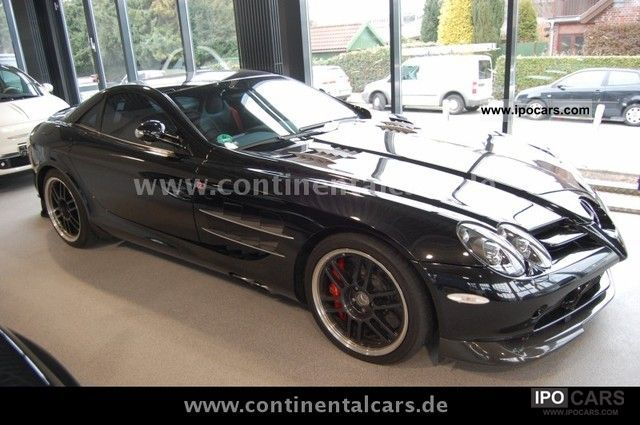 2007 Mercedes Benz Slr Mclaren 722 Edition Coupe In Black Car