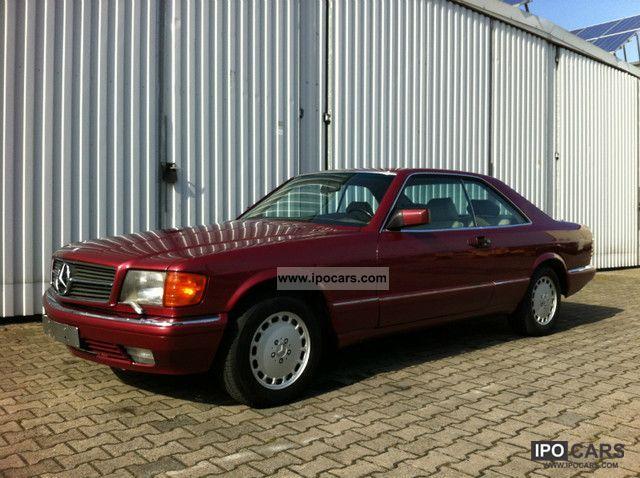 1990 Mercedes-Benz 500 SEC FULL LEATHER Klimaautom  Dual