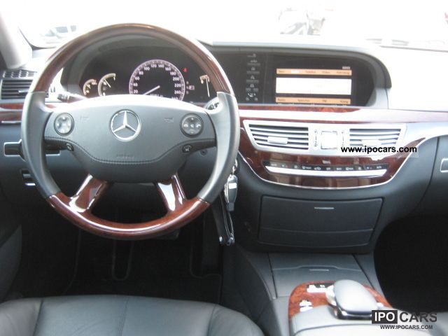 2008 Mercedes Benz S 320 Cdi Long Airmatic Navi Leather