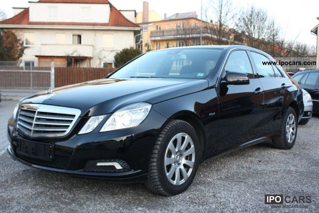 2009 mercedes benz e 220 cdi blueefficiency automatic dpf car photo and specs. Black Bedroom Furniture Sets. Home Design Ideas