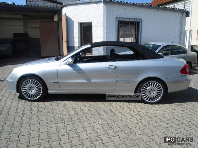 2006 mercedes benz clk 200 kompressor avantgarde cabroi. Black Bedroom Furniture Sets. Home Design Ideas