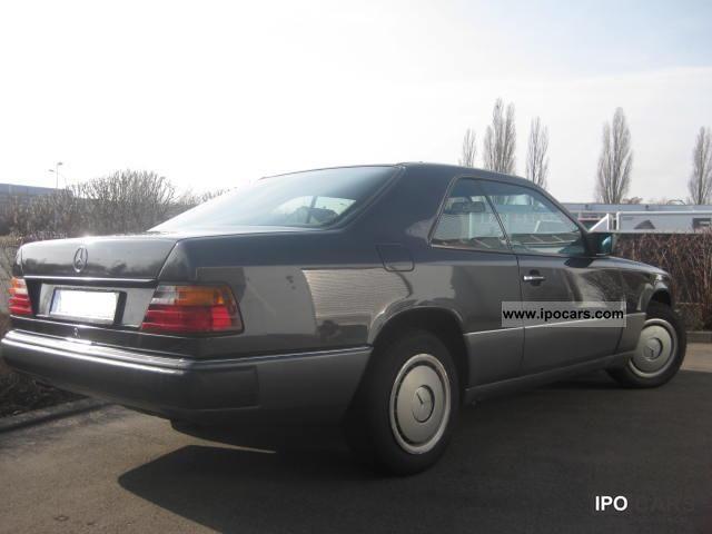 1992 mercedes benz 230 ce car photo and specs. Black Bedroom Furniture Sets. Home Design Ideas