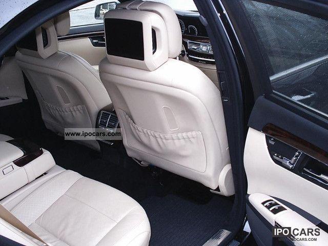 2009 Mercedes-Benz S 500 L 4Matic TV rear-seat entertainment Mod ...