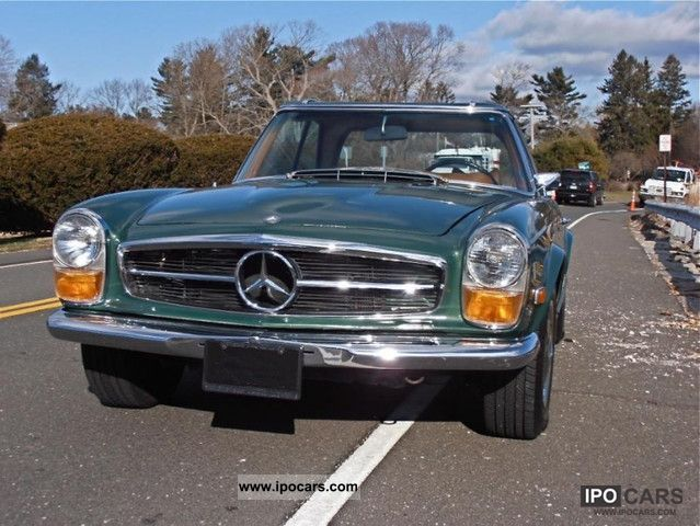 Mercedes-Benz  280 SL Pagoda celebrity vehicle 1971 Vintage, Classic and Old Cars photo