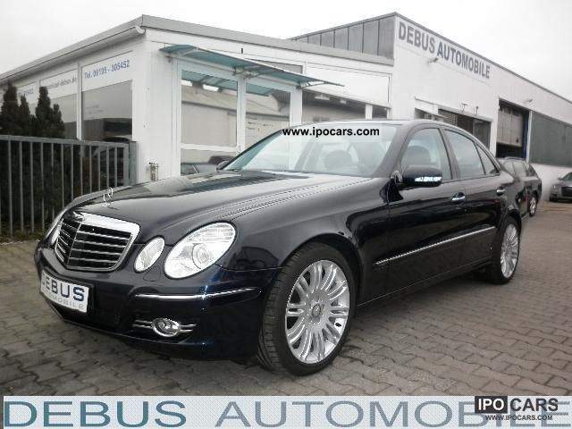 2007 mercedes benz e 320 cdi avantgarde dpf 7g tronic sport package car photo and specs. Black Bedroom Furniture Sets. Home Design Ideas
