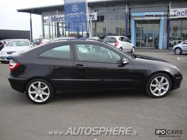 2007 mercedes benz classe c 200 cdi sports coupe sports. Black Bedroom Furniture Sets. Home Design Ideas