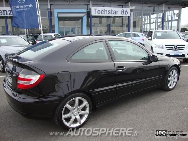2007 mercedes benz classe c 200 cdi sports coupe sports editi car photo and specs. Black Bedroom Furniture Sets. Home Design Ideas