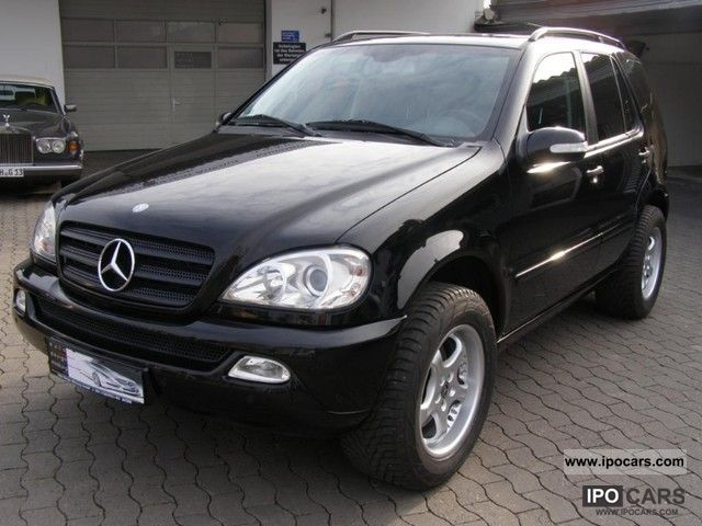 2002 mercedes benz ml 320 air leather aluminum navi. Black Bedroom Furniture Sets. Home Design Ideas