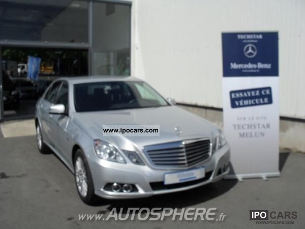 2010 Mercedes Benz Classe E 300 Cdi Be Ela C G Ex 7gtro Car