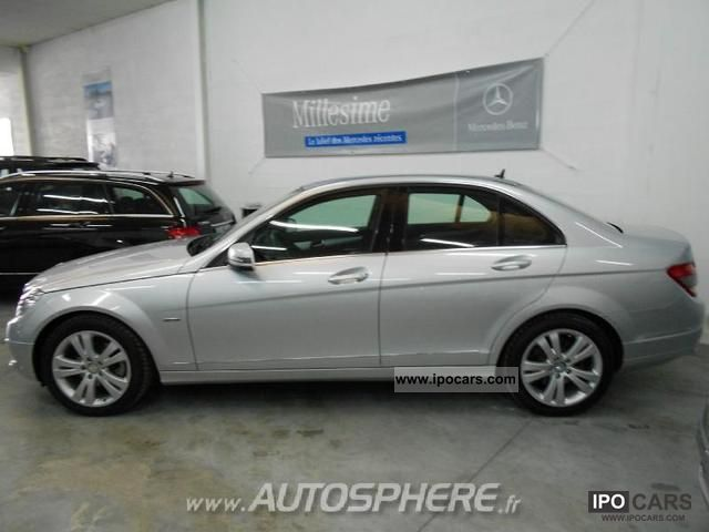 2009 mercedes benz classe c 220 cdi avantgarde be car photo and specs. Black Bedroom Furniture Sets. Home Design Ideas