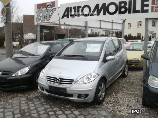 2005 Mercedes-Benz  A 170 Avantgarde € 4, Air Limousine Used vehicle photo