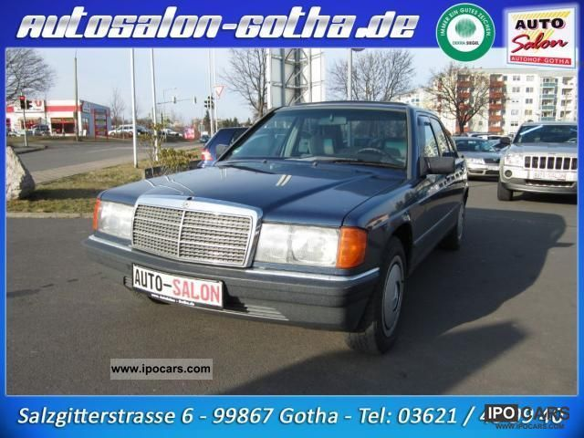 1987 Mercedes-Benz  190 2.3 auto seat heater Limousine Used vehicle photo