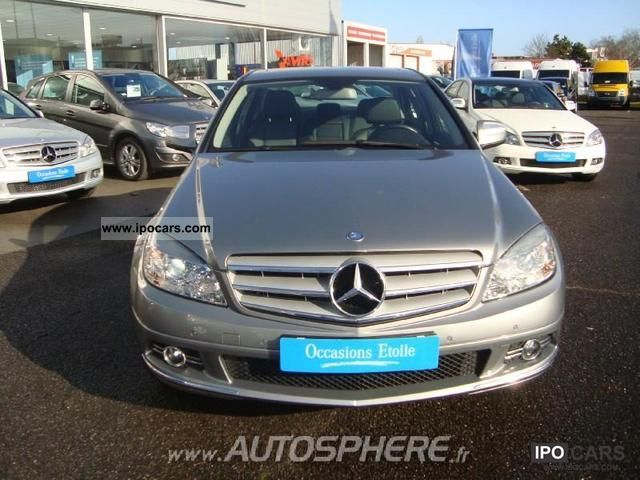 2009 mercedes benz classe c 220 cdi car photo and specs. Black Bedroom Furniture Sets. Home Design Ideas