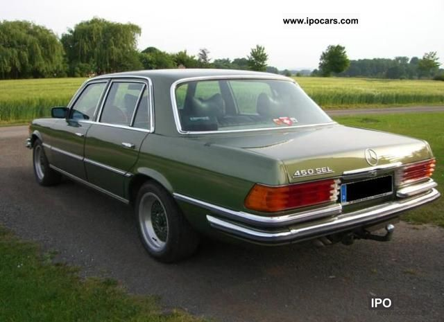 Mercedes-Benz  450 SEL W 116 year 1978 1978 Vintage, Classic and Old Cars photo