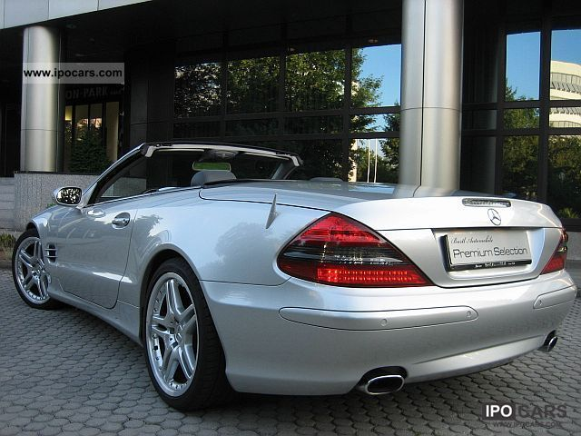 2003 mercedes benz sl 500 amg 19 car photo and specs. Black Bedroom Furniture Sets. Home Design Ideas