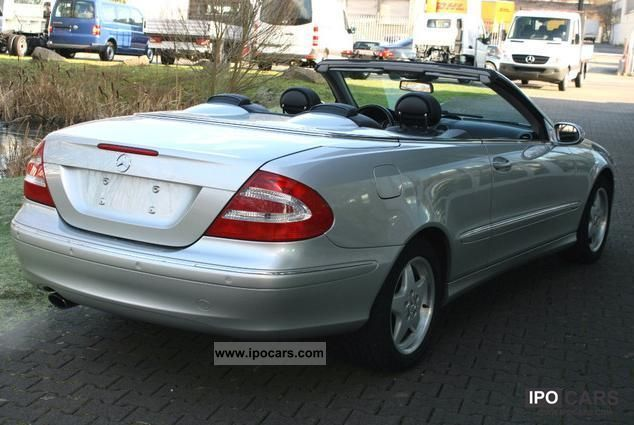 2005 mercedes benz clk 200 kompressor automatic elegance. Black Bedroom Furniture Sets. Home Design Ideas