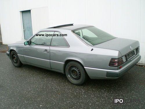 1987 mercedes benz 230 ce car photo and specs. Black Bedroom Furniture Sets. Home Design Ideas