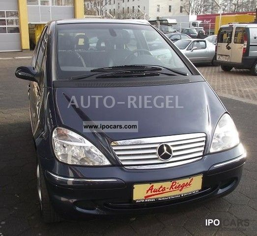 2001 Mercedes-Benz  A 190 Avantgarde. Climate / Sitzhzg / sunroof Limousine Used vehicle photo