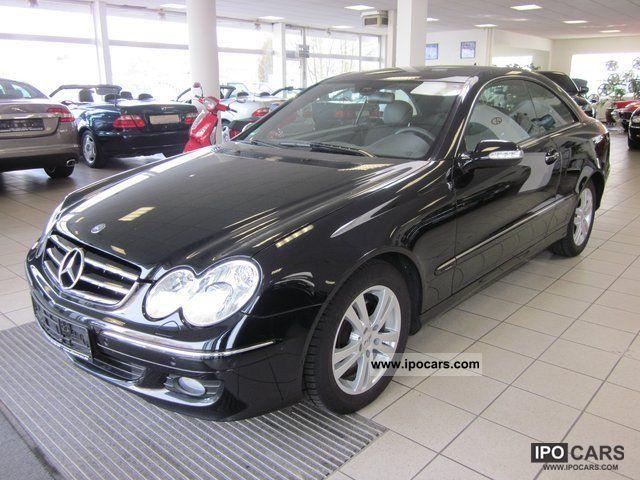 2007 Mercedes Benz Clk 200 K Avantgarde Leather Xenon Pdc