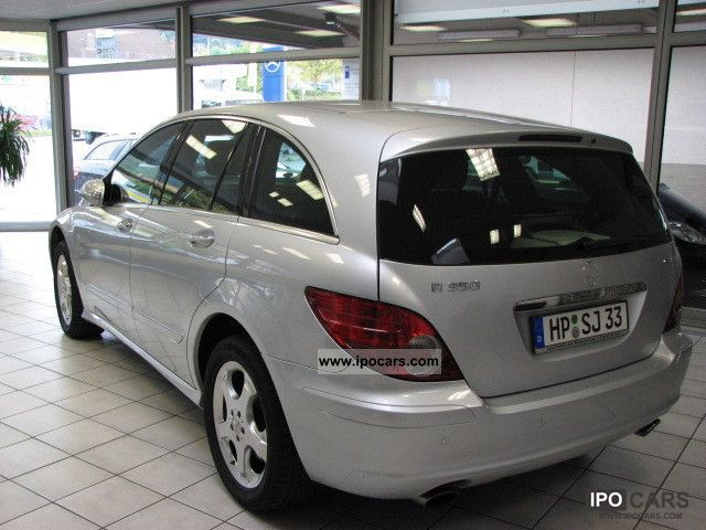 2007 mercedes benz r 350 4matic 7g tronic 6 seater navi for Mercedes benz two seater