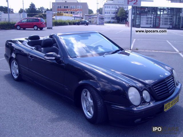 2000 mercedes benz clk 230 kompressor avantgarde auto car photo and specs. Black Bedroom Furniture Sets. Home Design Ideas