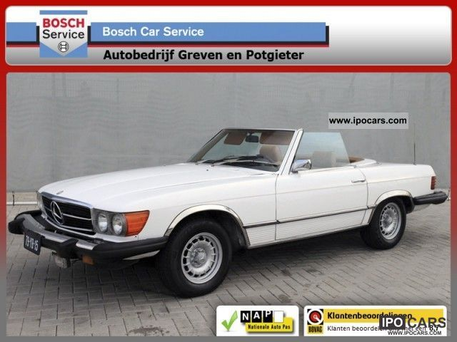 Mercedes-Benz  SL 450 450 SL Roadster 1975 Automaat Super 225PK 1975 Vintage, Classic and Old Cars photo