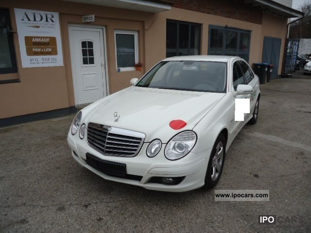 Mercedes-Benz  E 200 Kompressor NGT / petrol 1 * Hand & checkbook * 2009 Compressed Natural Gas Cars (CNG, methane, CH4) photo