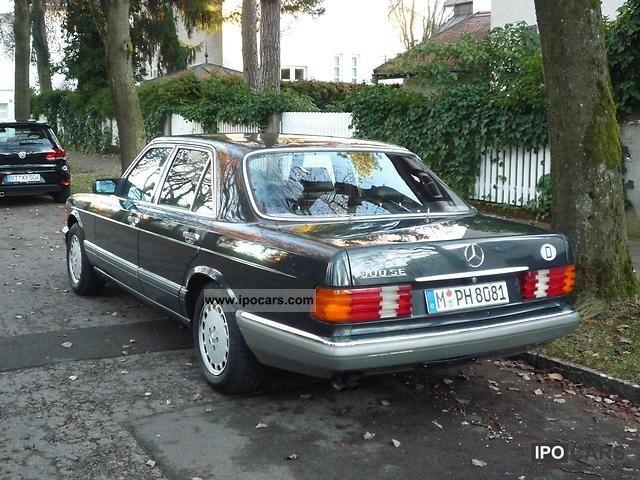 1990 mercedes benz 300 se car photo and specs for Mercedes benz 300 se