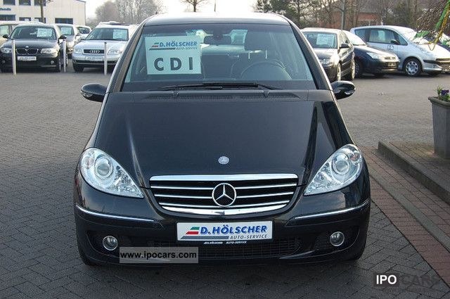 2004 mercedes benz a 180 cdi avantgarde dpf car photo and specs. Black Bedroom Furniture Sets. Home Design Ideas