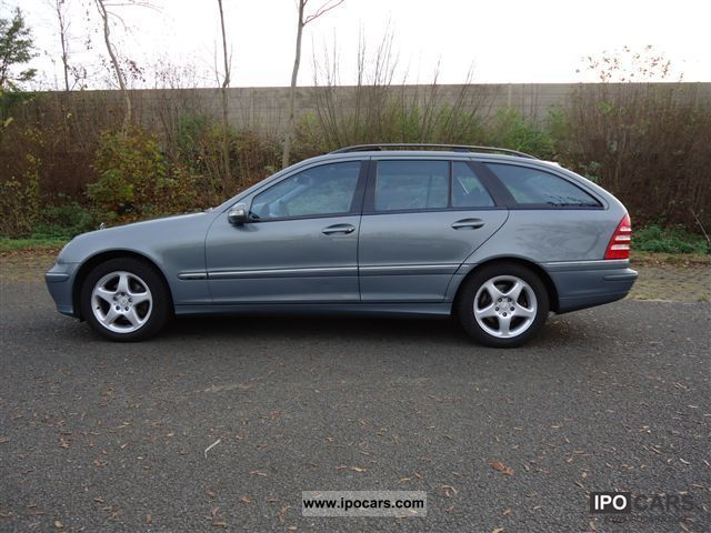 2004 mercedes benz c 200 t cdi avantgarde green badge car photo and specs. Black Bedroom Furniture Sets. Home Design Ideas