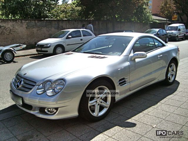 2007 mercedes benz sl 350 7g tronic bi xenon comand. Black Bedroom Furniture Sets. Home Design Ideas