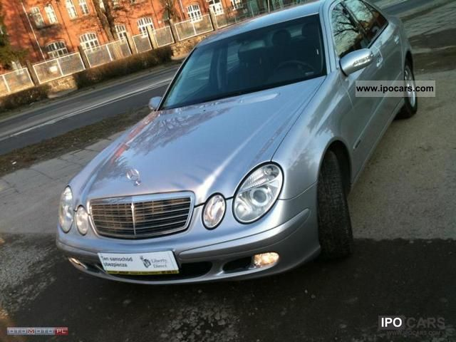 2003 mercedes benz e 220 2200 cdi 150km serwis igla car photo and specs. Black Bedroom Furniture Sets. Home Design Ideas