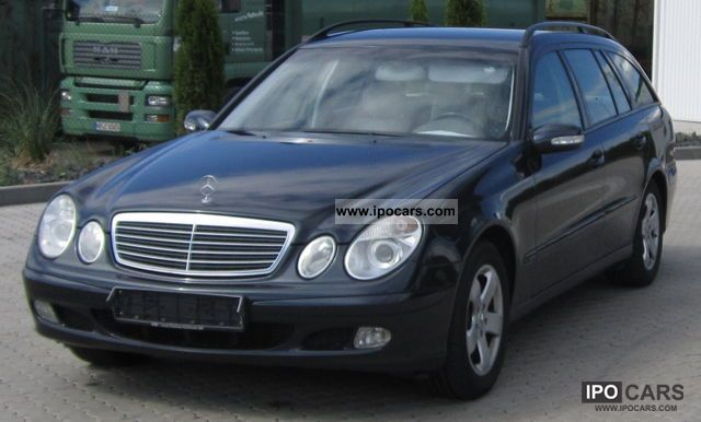 2004 mercedes benz e 220 cdi automatic euro4 car photo and specs. Black Bedroom Furniture Sets. Home Design Ideas