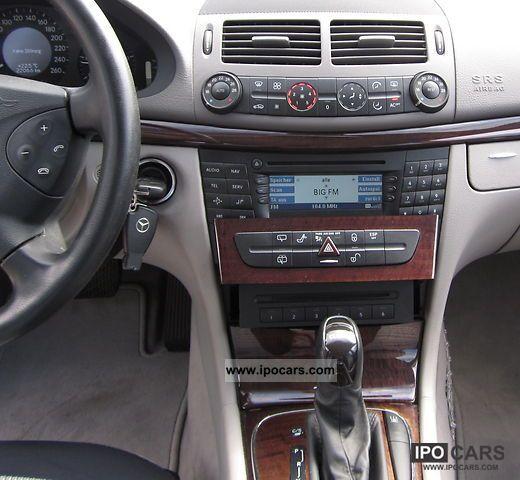 2004 mercedes-benz e 220 cdi automatic, euro4 - car photo and specs