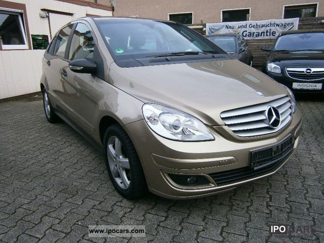 2007 mercedes benz b 150 sports leather heated seats. Black Bedroom Furniture Sets. Home Design Ideas
