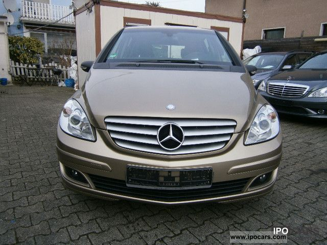 2007 mercedes benz b 150 sports leather heated seats integr kindersitz car photo and specs. Black Bedroom Furniture Sets. Home Design Ideas