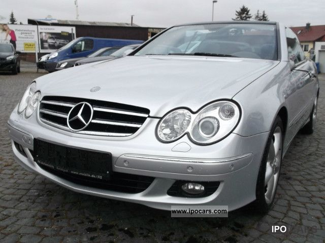 2005 mercedes benz clk 280 convertible avantgarde automatic leather xe car photo and specs. Black Bedroom Furniture Sets. Home Design Ideas