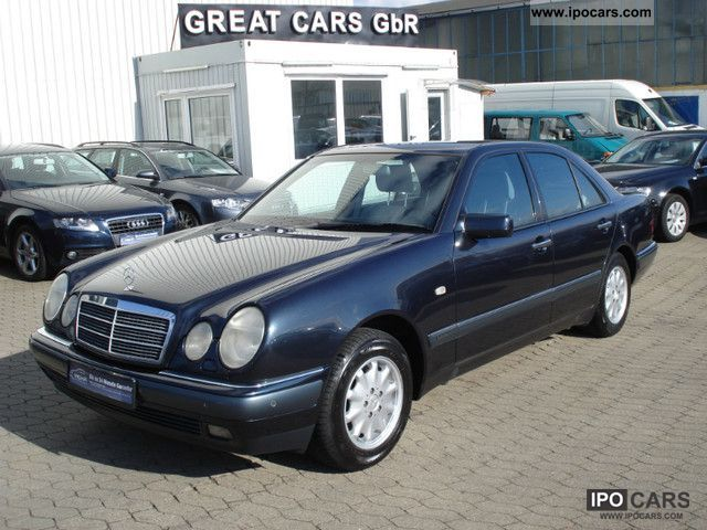 1998 mercedes benz e 240 elegance xenon pdc shz alu memory car photo and specs. Black Bedroom Furniture Sets. Home Design Ideas