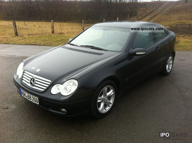 2003 Mercedes Benz C 180 Kompressor Sports Coupe