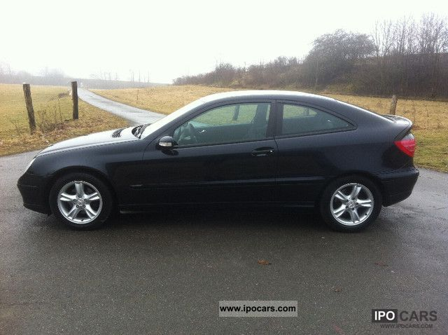 2003 mercedes benz c 180 kompressor sports coupe indianapolis t o p car photo and specs. Black Bedroom Furniture Sets. Home Design Ideas