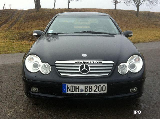 2003 Mercedes Benz C 180 Kompressor Sports Coupe
