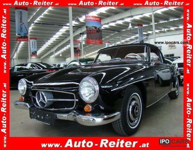 Mercedes-Benz  190 SL Convertible 1960 Vintage, Classic and Old Cars photo
