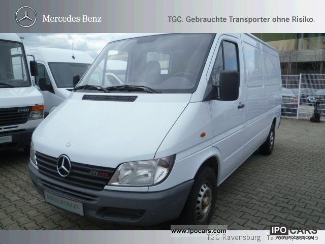 2002 Mercedes-Benz  Sprinter 211 CDI Van / Minibus Used vehicle photo