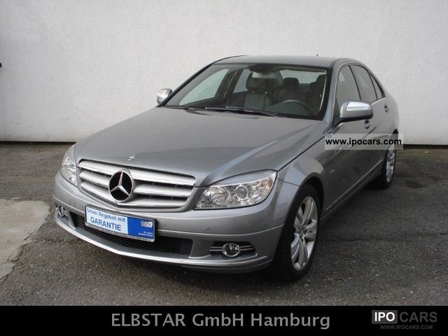2008 mercedes benz c 200 cdi avantgarde automatic command dvd pts car photo and specs. Black Bedroom Furniture Sets. Home Design Ideas